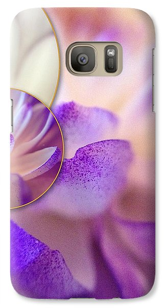 Galaxy Case featuring the photograph Bee's Eye View by Susan Maxwell Schmidt