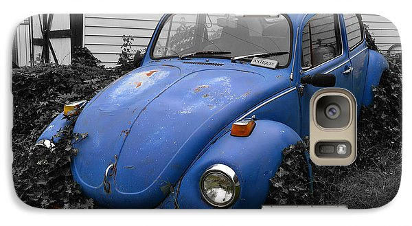 Galaxy Case featuring the photograph Beetle Garden by Angela DeFrias