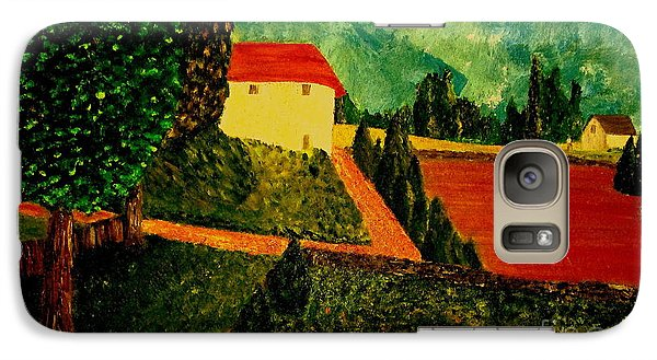 Galaxy Case featuring the painting Before The Rain by Bill OConnor
