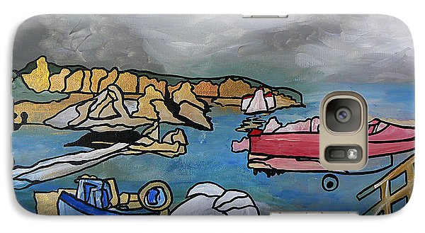 Galaxy Case featuring the painting Before The Storm by Barbara St Jean