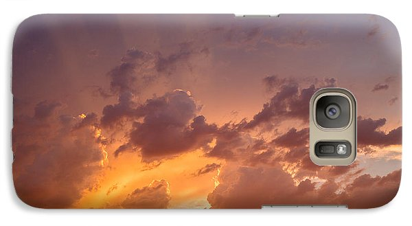 Galaxy Case featuring the photograph Before The Storm by Dennis Bucklin