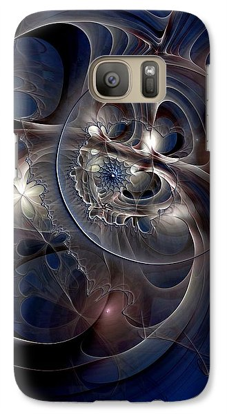 Galaxy Case featuring the digital art Beguiled At Twilight by Casey Kotas