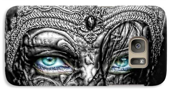 Mo Galaxy S7 Case - Behind Blue Eyes by Mo T