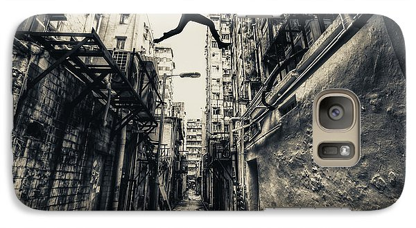 Hong Kong Galaxy S7 Case - Behind Street by Junites Uno