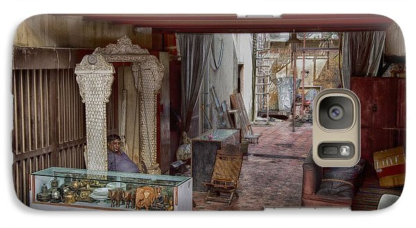 Galaxy Case featuring the photograph Behind The Market 2 by John Hoey