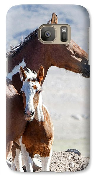 Galaxy Case featuring the photograph Being Close by Lula Adams
