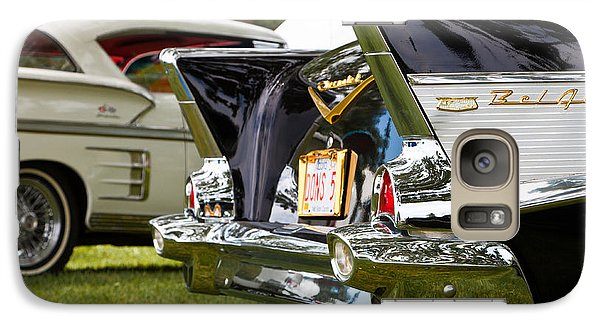 Galaxy Case featuring the photograph Belair Tail Fins  2 by Mick Flynn