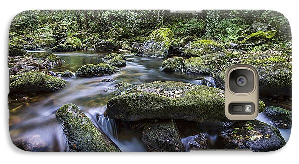 Galaxy Case featuring the photograph Belelle River Neda Galicia Spain by Pablo Avanzini