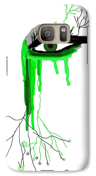Galaxy Case featuring the digital art Believe Me by Sladjana Lazarevic