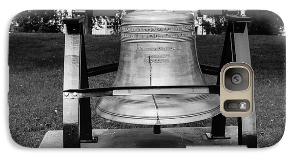 Galaxy Case featuring the photograph Bell At Tn State Capitol by Robert Hebert
