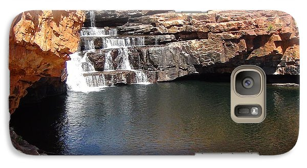 Galaxy Case featuring the photograph Bell Falls by Tony Mathews