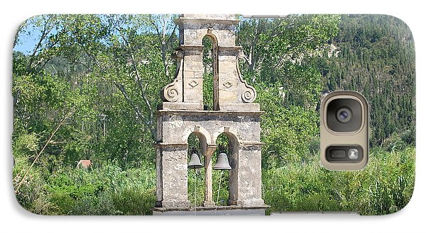 Galaxy Case featuring the photograph Bell Tower 1584 1 by George Katechis