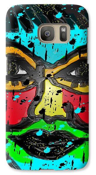 Galaxy Case featuring the digital art Bella by Sladjana Lazarevic