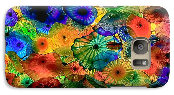 Galaxy Case featuring the photograph Bellagio Flowers by Nicola Fiscarelli