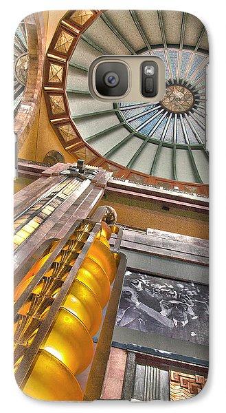 Galaxy Case featuring the photograph Bellas Artes Interior by John  Bartosik
