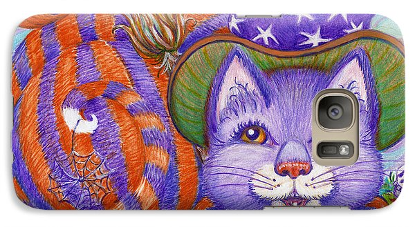 Galaxy Case featuring the drawing Bellaweena by Dee Davis