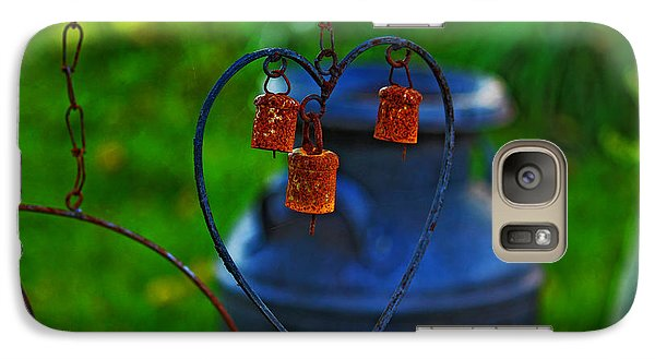 Galaxy Case featuring the photograph Bells by Rowana Ray