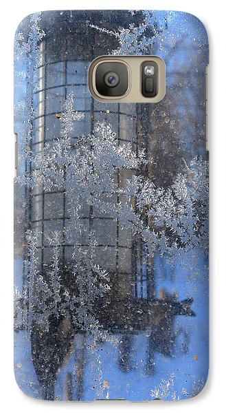 Galaxy Case featuring the photograph Below Zero by R  Allen Swezey