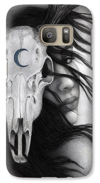 Galaxy Case featuring the painting Beltane by Pat Erickson
