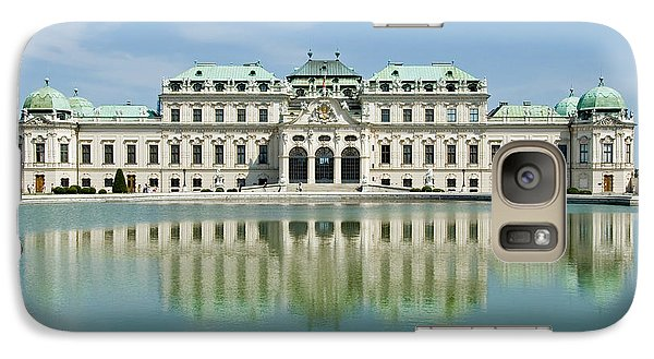 Galaxy Case featuring the photograph Belvedere Palace by Jeremy Voisey
