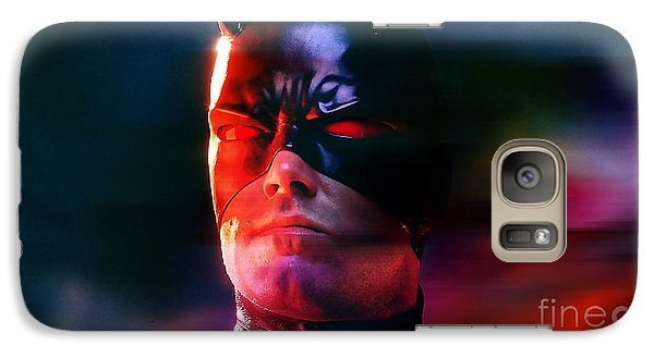 Ben Affleck Daredevil Galaxy S7 Case by Marvin Blaine