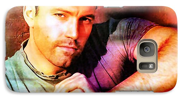 Ben Affleck Galaxy S7 Case by Marvin Blaine