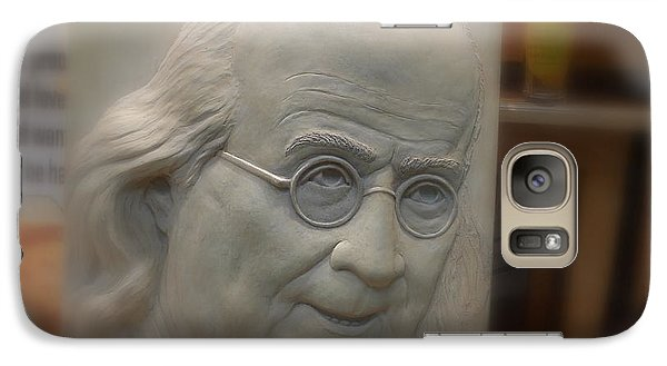 Galaxy Case featuring the photograph Ben Franklin Looking Out by Richard Reeve