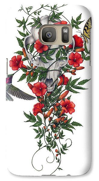 Galaxy Case featuring the painting Beneath Summer's Promise by Pat Erickson