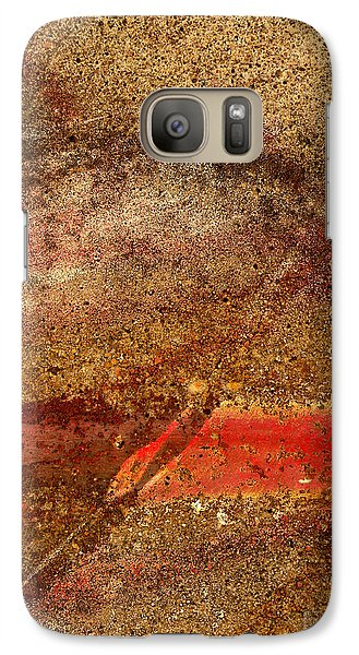 Galaxy Case featuring the photograph Beneath The Surface by Robert Riordan