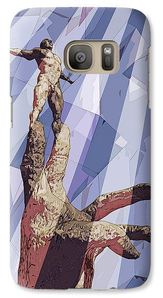 Galaxy Case featuring the digital art Benediction by Matt Lindley