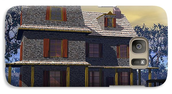 Galaxy Case featuring the digital art Benjamin Cooper House - 1734 by John Pangia