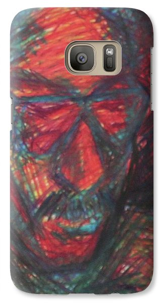Galaxy Case featuring the painting Benson by Carrie Maurer