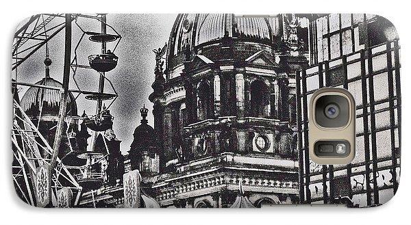 Galaxy Case featuring the photograph Berlin Christmas Market by Cassandra Buckley
