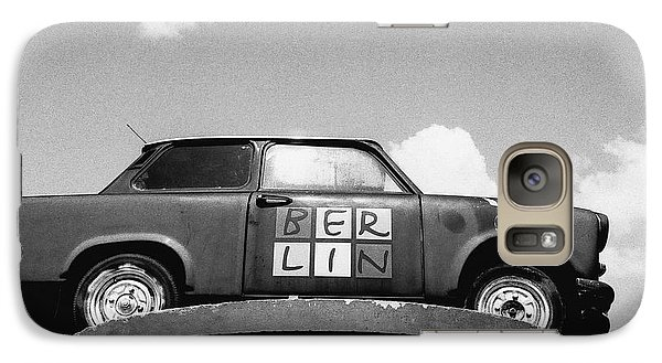 Galaxy Case featuring the photograph Berlin Trabant by Dean Harte