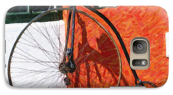Galaxy Case featuring the photograph Bermuda Antique Bicycle by Verena Matthew