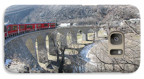 Bernina Express In Winter Galaxy S7 Case