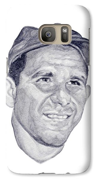 Galaxy Case featuring the painting Berra by Tamir Barkan