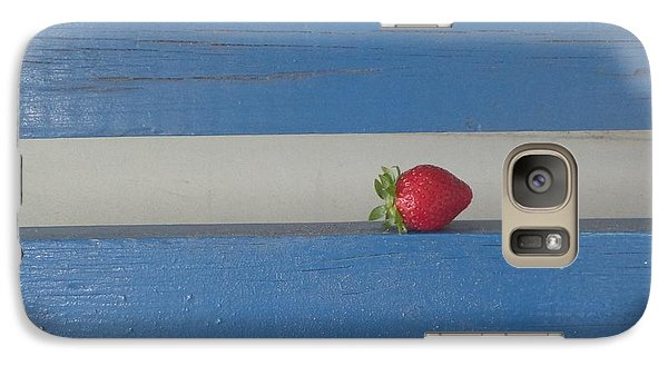 Galaxy Case featuring the photograph Berry Blues by Christina Verdgeline