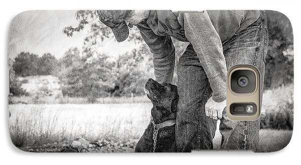 Galaxy Case featuring the photograph Best Friends by Julie Clements