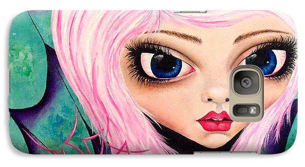 Galaxy Case featuring the painting Best Friends by Oddball Art Co by Lizzy Love