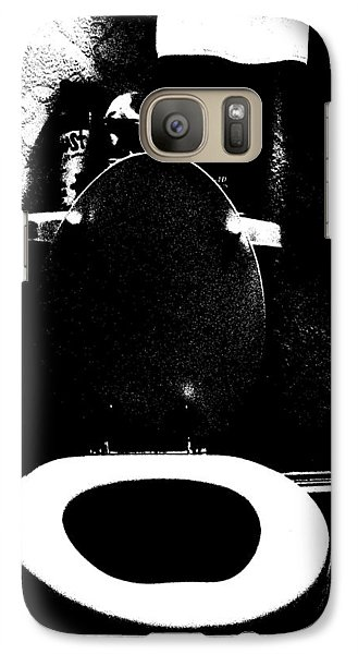 Galaxy Case featuring the photograph Best Seat In The House Aka Unsung Hero by Cleaster Cotton