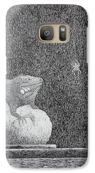 Galaxy Case featuring the painting Bestilled Life by A  Robert Malcom