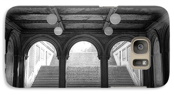Galaxy Case featuring the photograph Bethesda Passage Central Park by Dave Beckerman