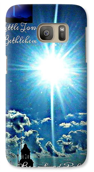 Galaxy Case featuring the photograph Bethlehem by Joetta Beauford