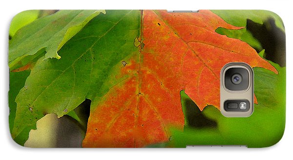 Galaxy Case featuring the photograph Between Seasons by Susan Crossman Buscho
