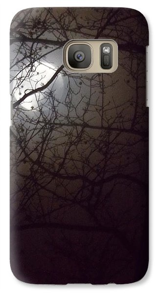 Galaxy Case featuring the photograph Beware The Rougarou Moon by John Glass