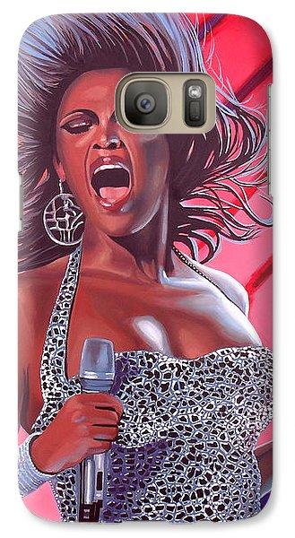 Jay Z Galaxy S7 Case - Beyonce by Paul Meijering
