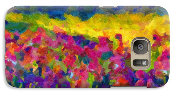 Galaxy Case featuring the painting Beyond A Simple Love by Joe Misrasi