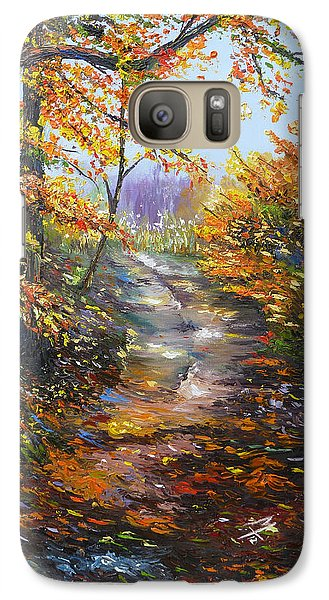 Galaxy Case featuring the painting Beyond Measure by Meaghan Troup