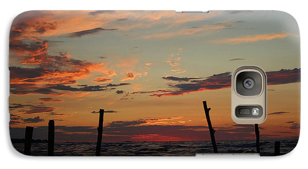 Galaxy Case featuring the photograph Beyond The Border by Barbara McMahon